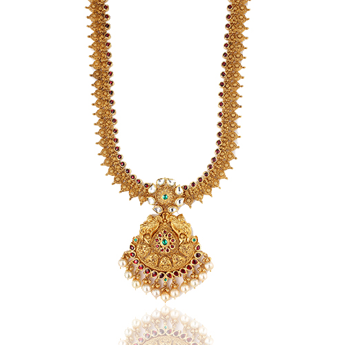 gold necklace designs in hyderabad